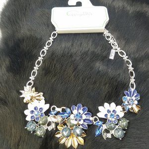 New Cappagalla Bling Statement Necklace
